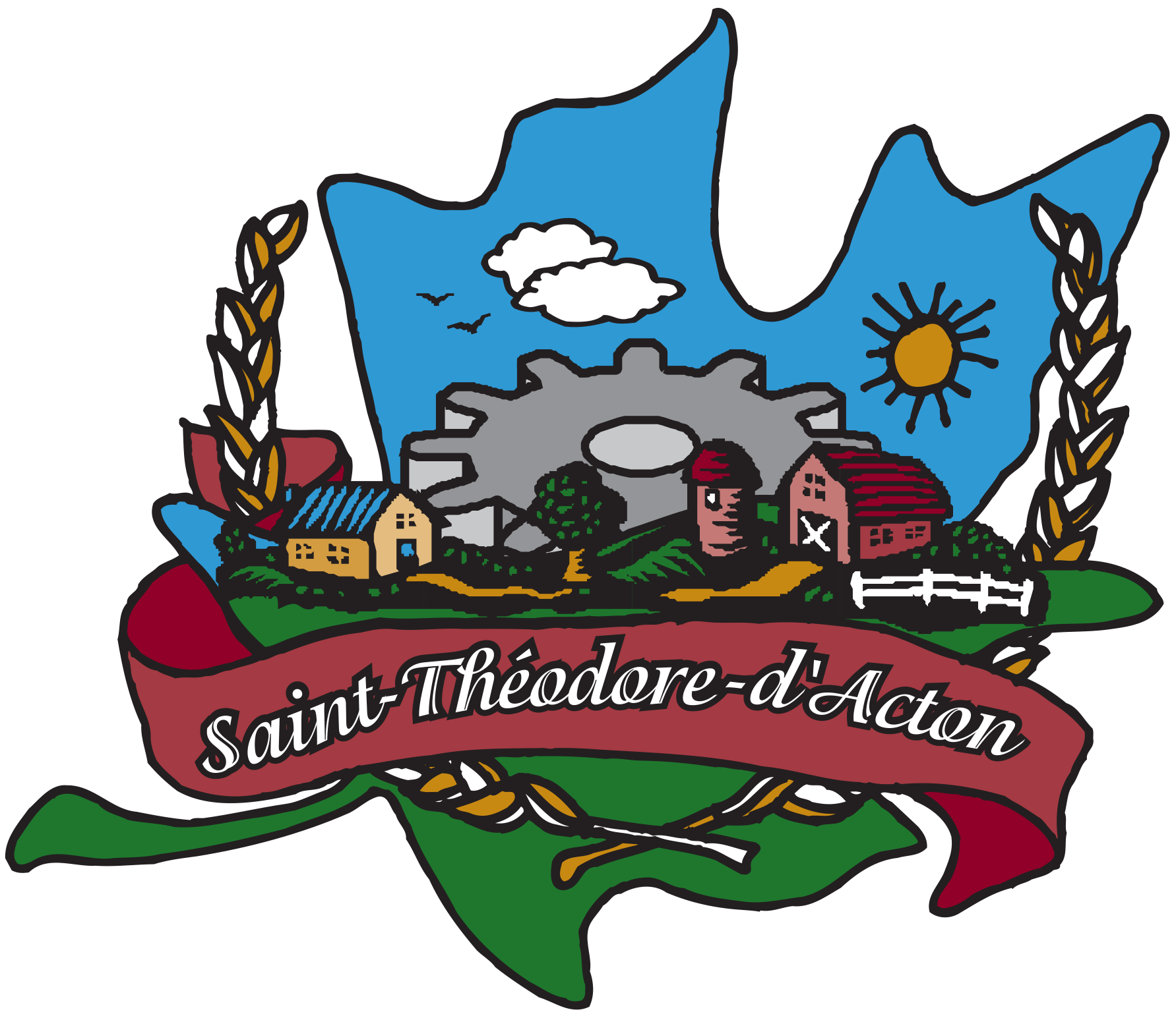Saint-Théodore-d'Acton - logo