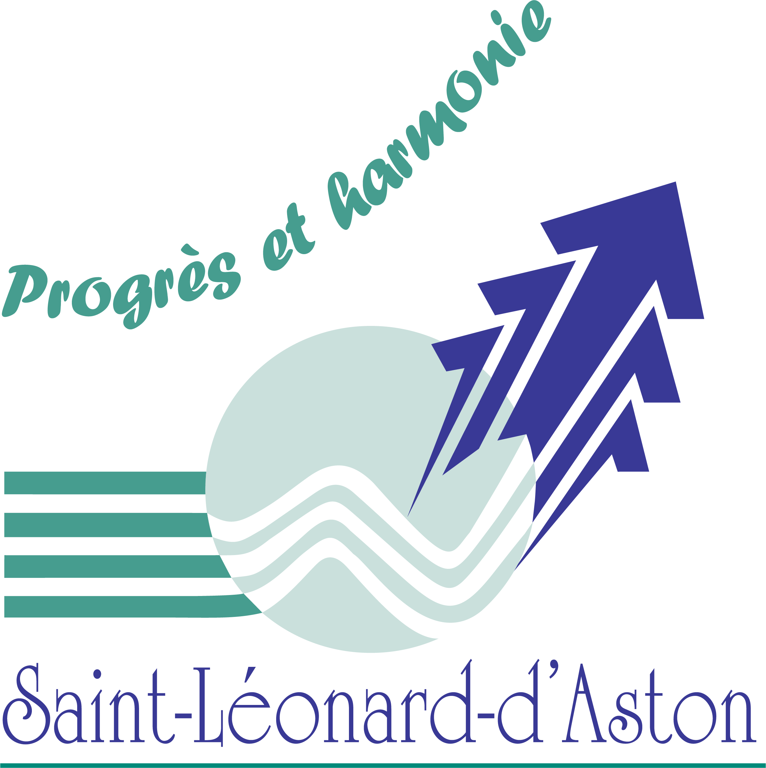 Saint-Léonard-d'Aston - logo